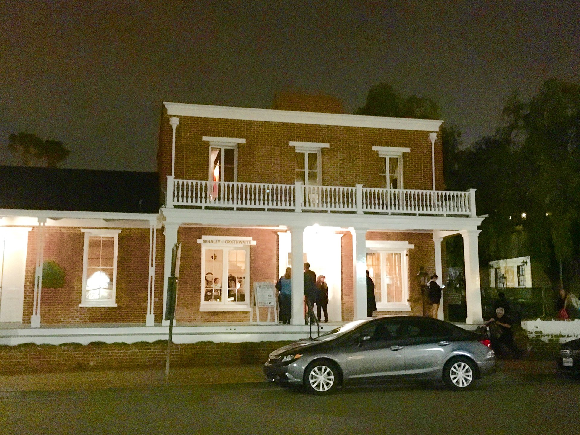 The Whaley House is noted as one of the most haunted houses in the US