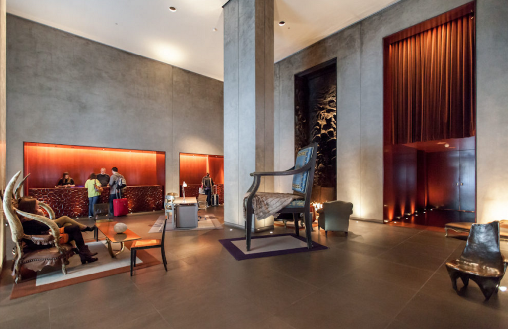 San Francisco's Clift Hotel: Luster Lost