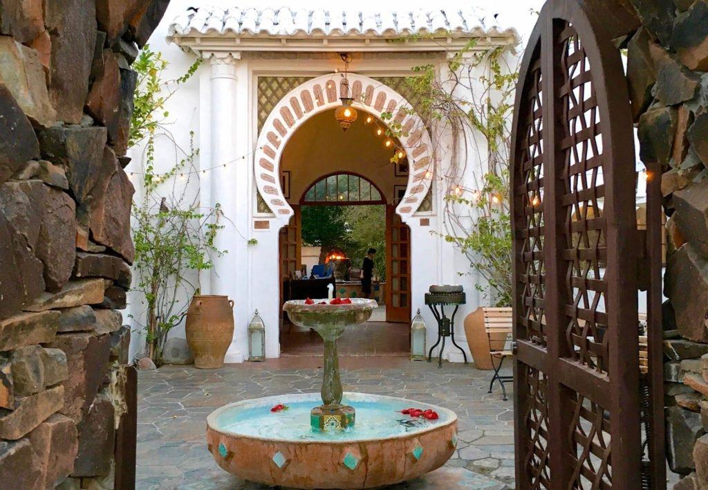 Palm Springs' Korakia Pensione beckons