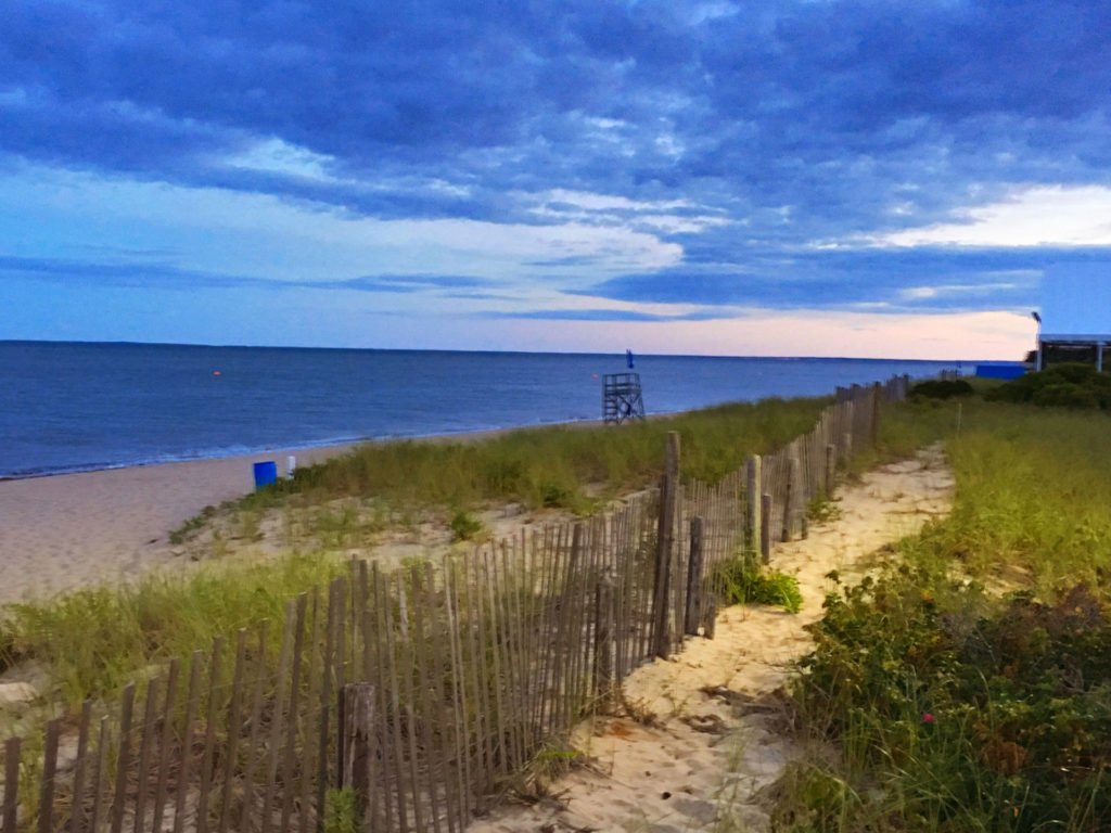 Quintessential Cape Cod beach dunes