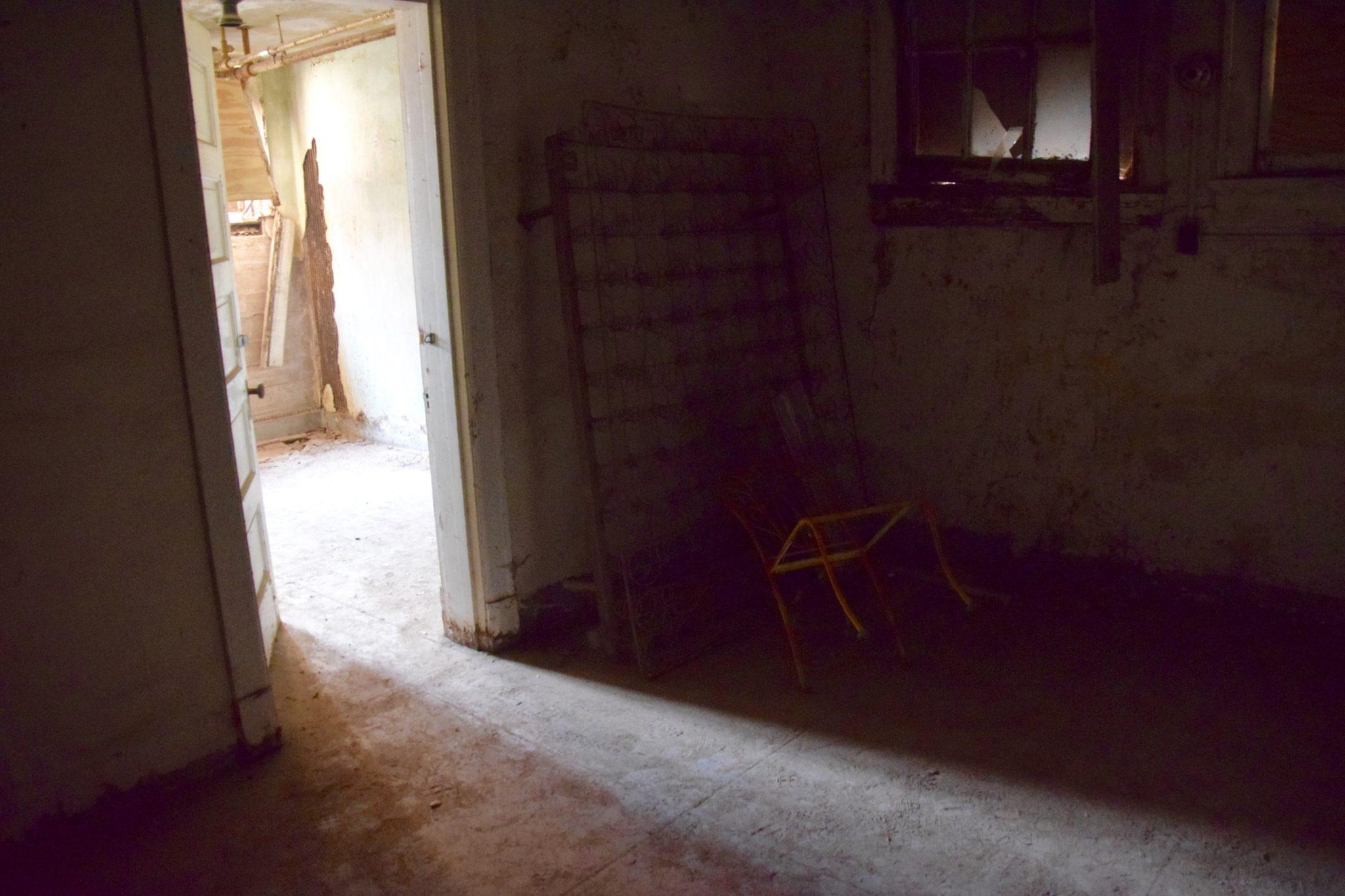 ghost town school basement