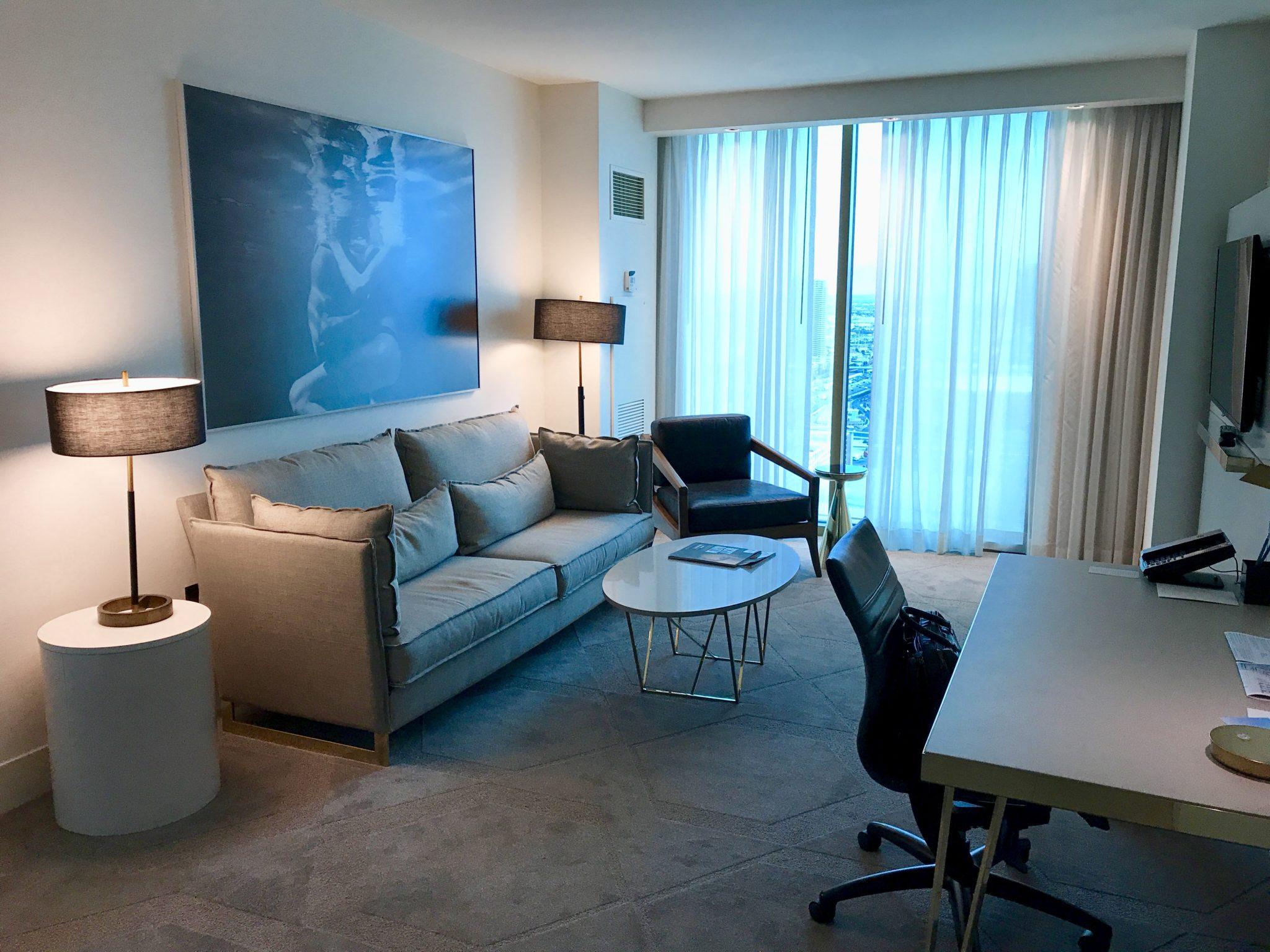 Hotel review delano hotel las vegas is a great experience - Delano las vegas two bedroom suite ...