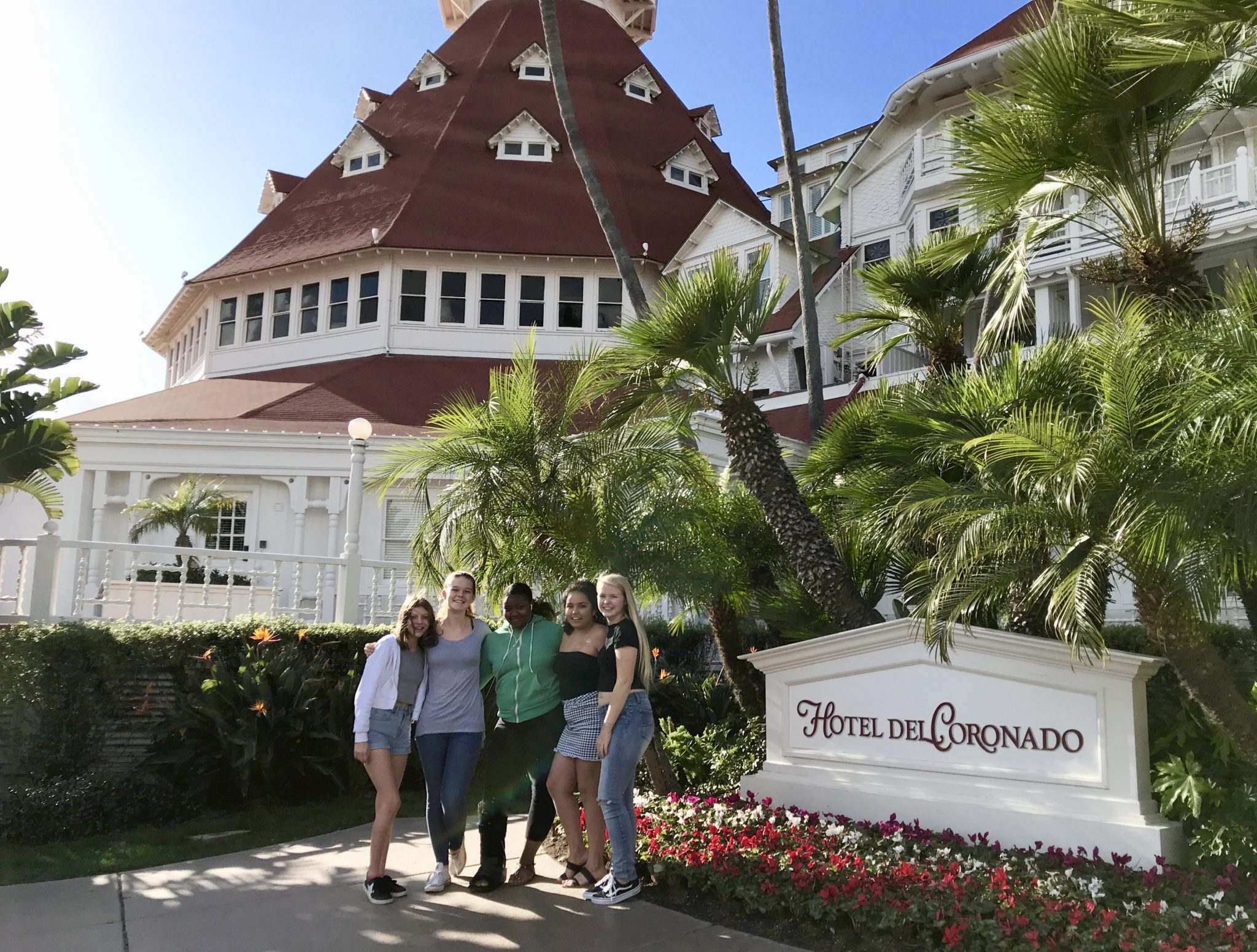 Hotel Del Coronado sign