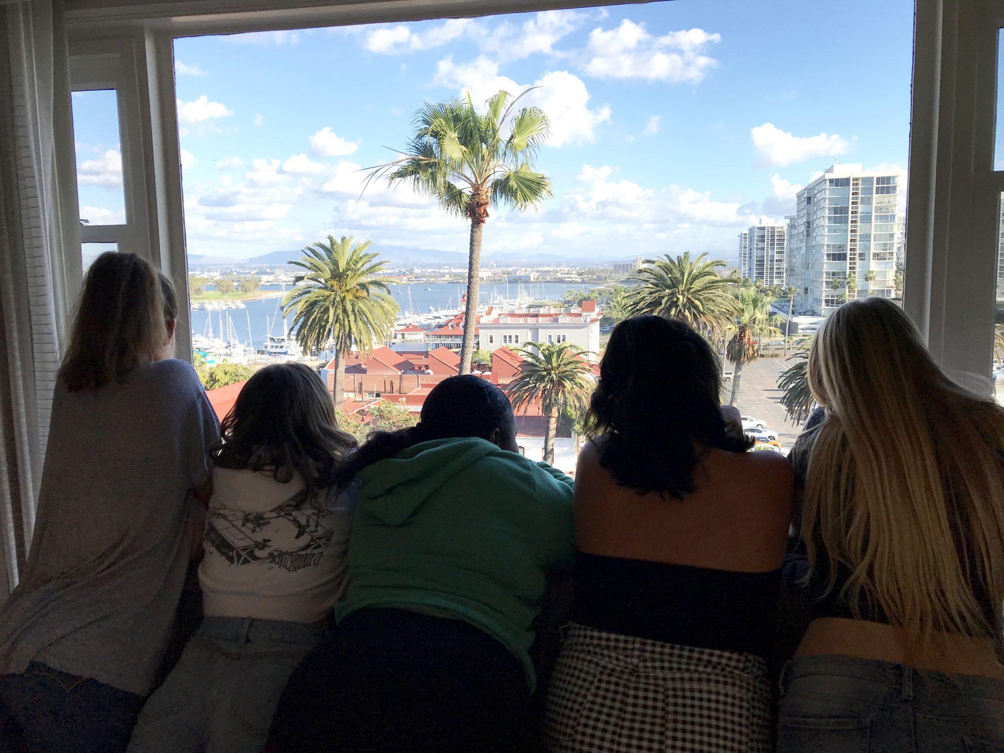View from Presidential Suite at Hotel Del Coronado