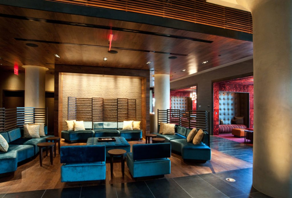 Chic And Cly The Lobby At Ink48 Hotel Was Comfortable Plus There Coffee So I Hy