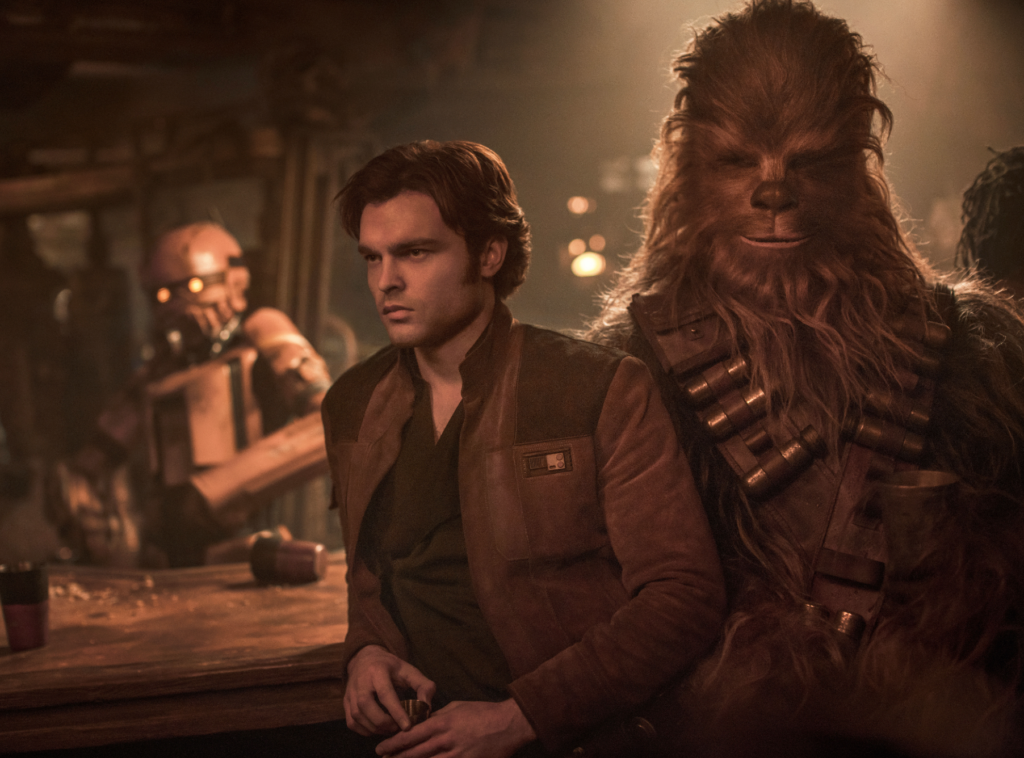 Han and Chewie strike up a friendship