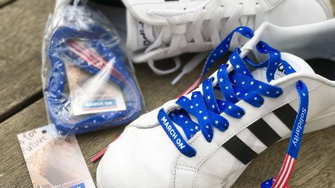 march on laces cause