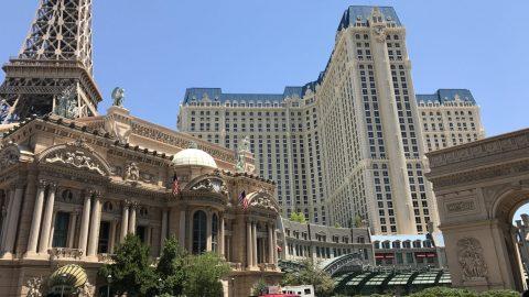 Paris hotel front