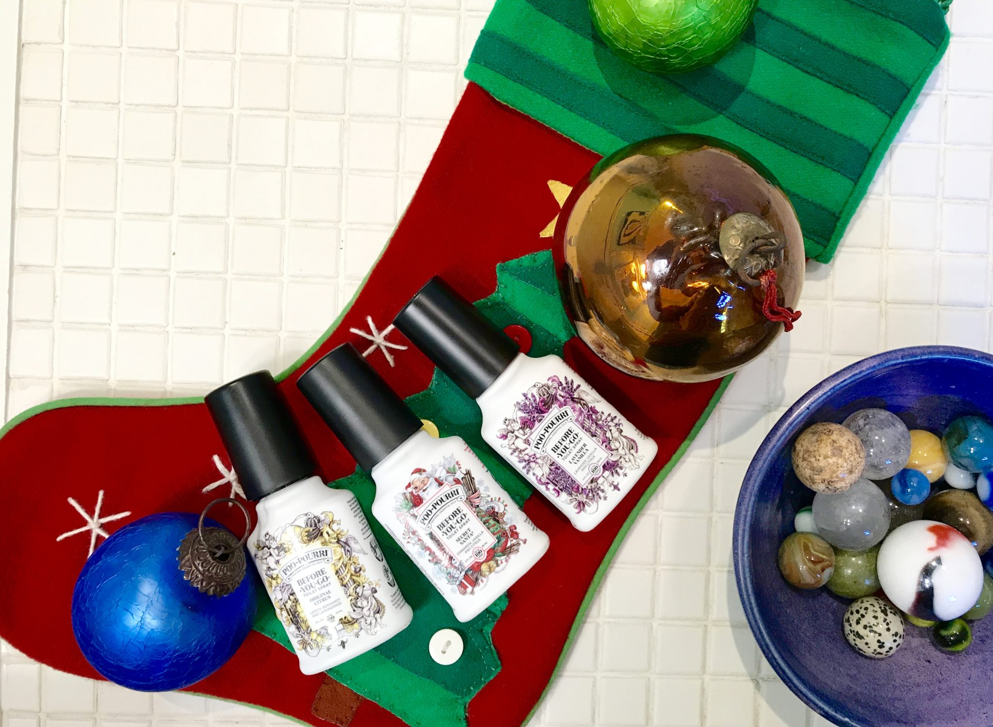 Poo~Pourri stocking stuffer