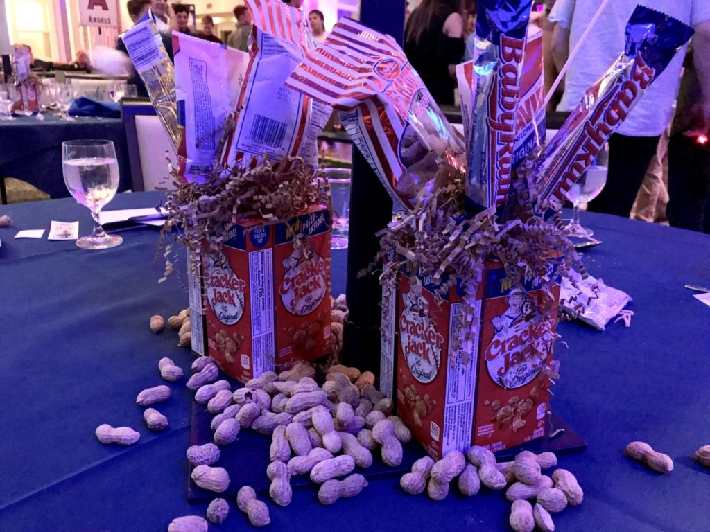 peanuts and crackerjack at bar mitzvah
