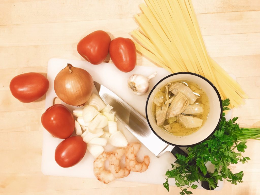 easy recipe for Shrimp Scampi