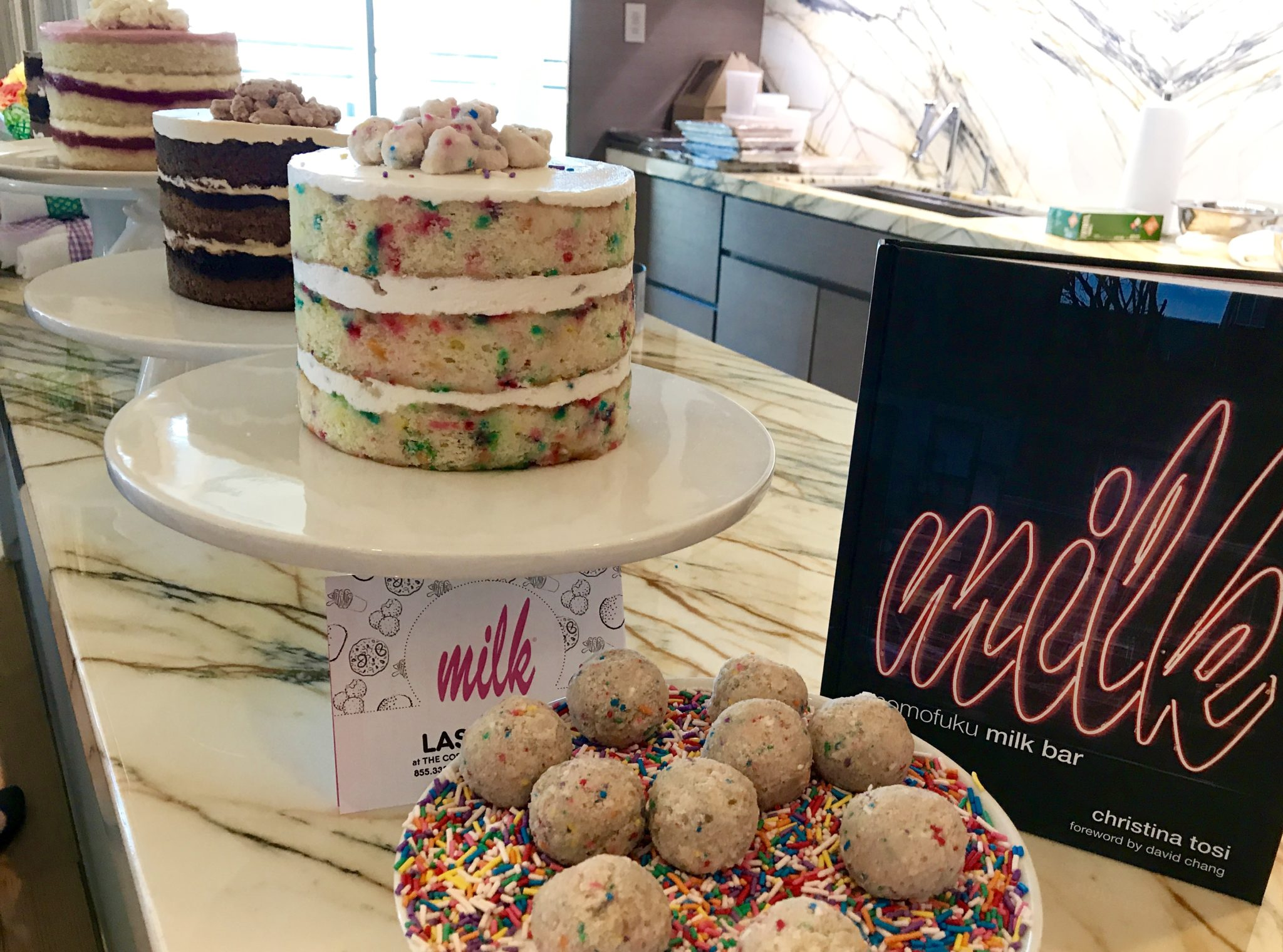 Admirable Making Cake Truffles With Christina Tosi Of Momofuku Milk Bar Personalised Birthday Cards Epsylily Jamesorg