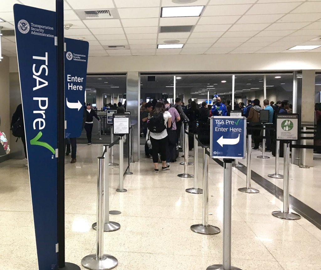 Pre-check line is always short at San Diego Airport