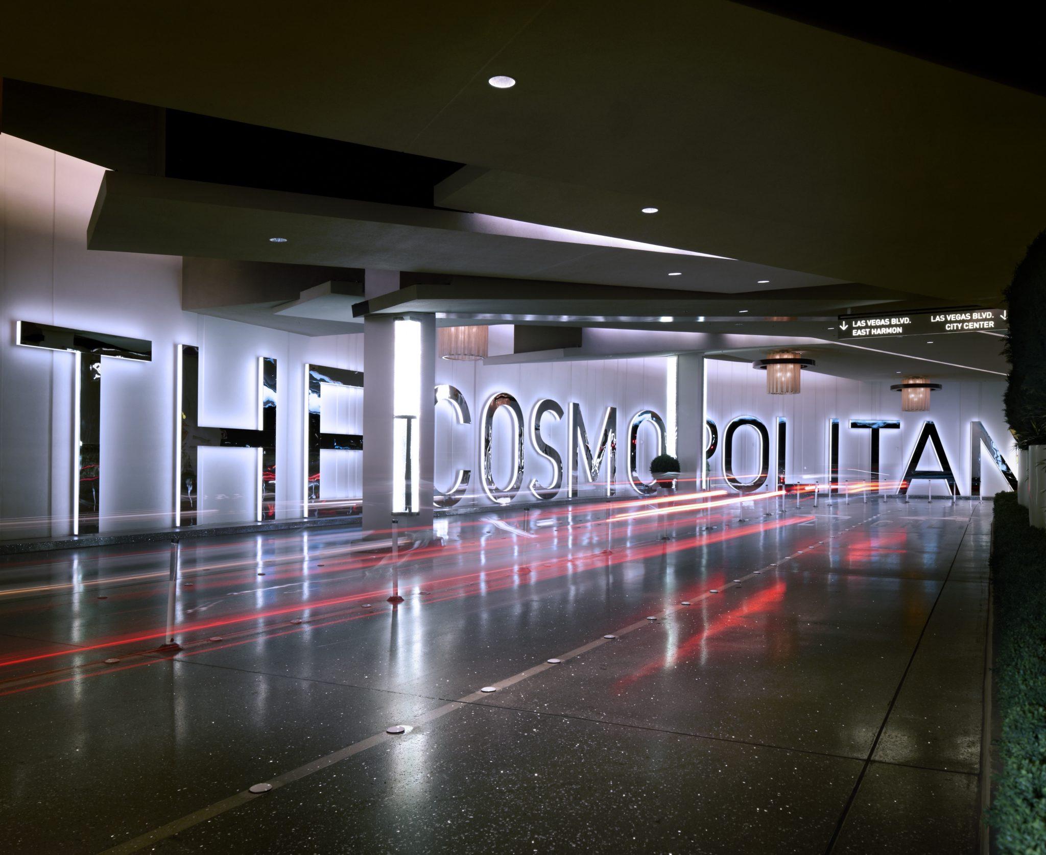 Porte cochere at The Cosmopolitan Las Vegas
