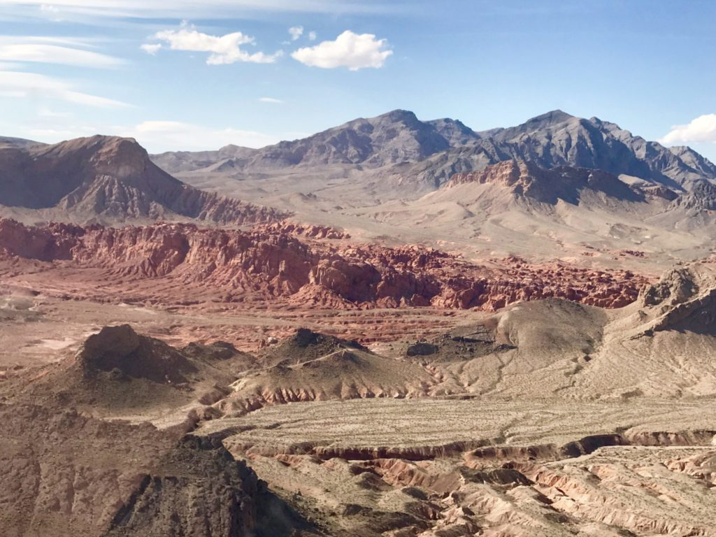 heading to Grand Canyon by helicopter