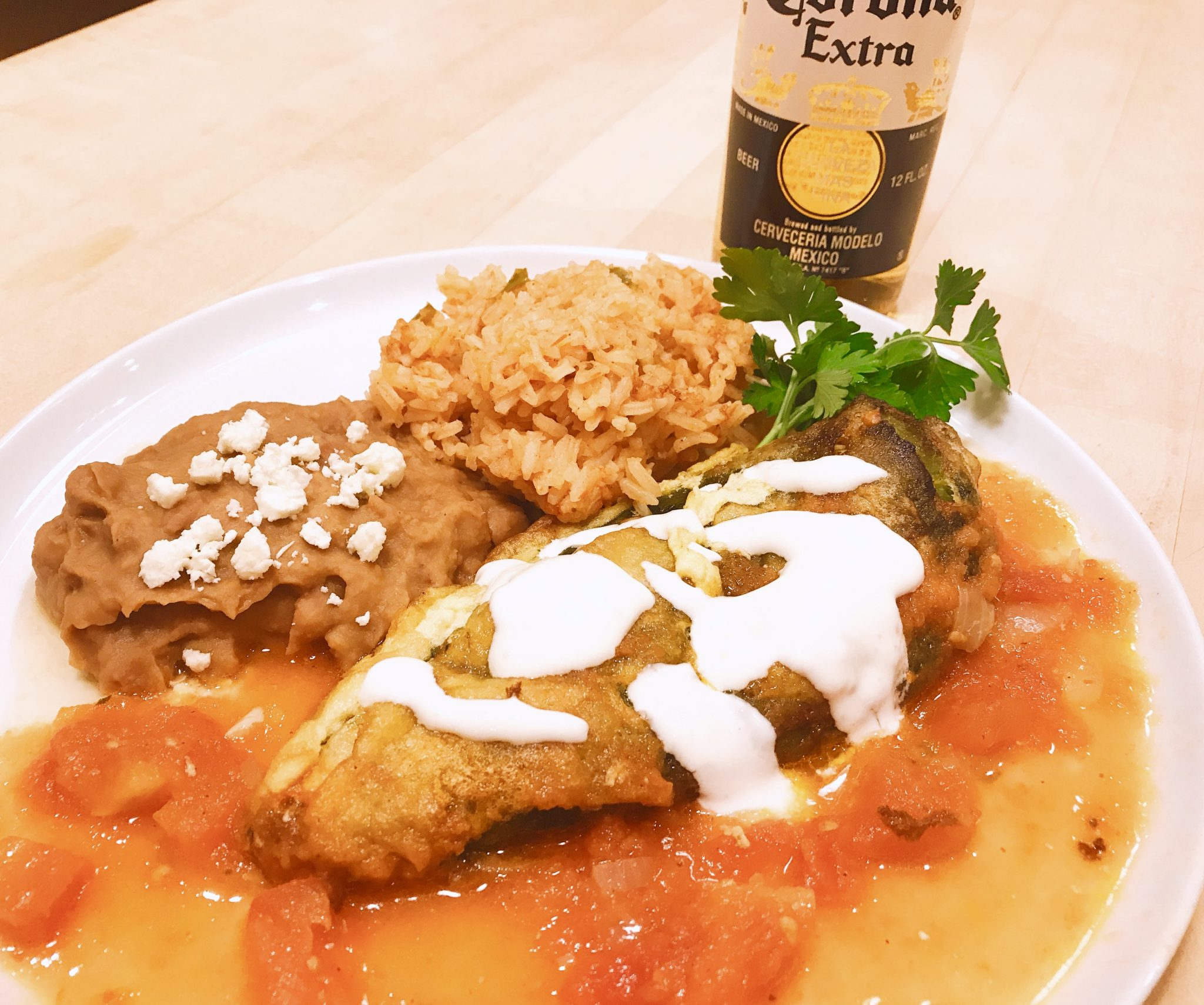 Cheese-Stuffed Chile Rellenos Recipe
