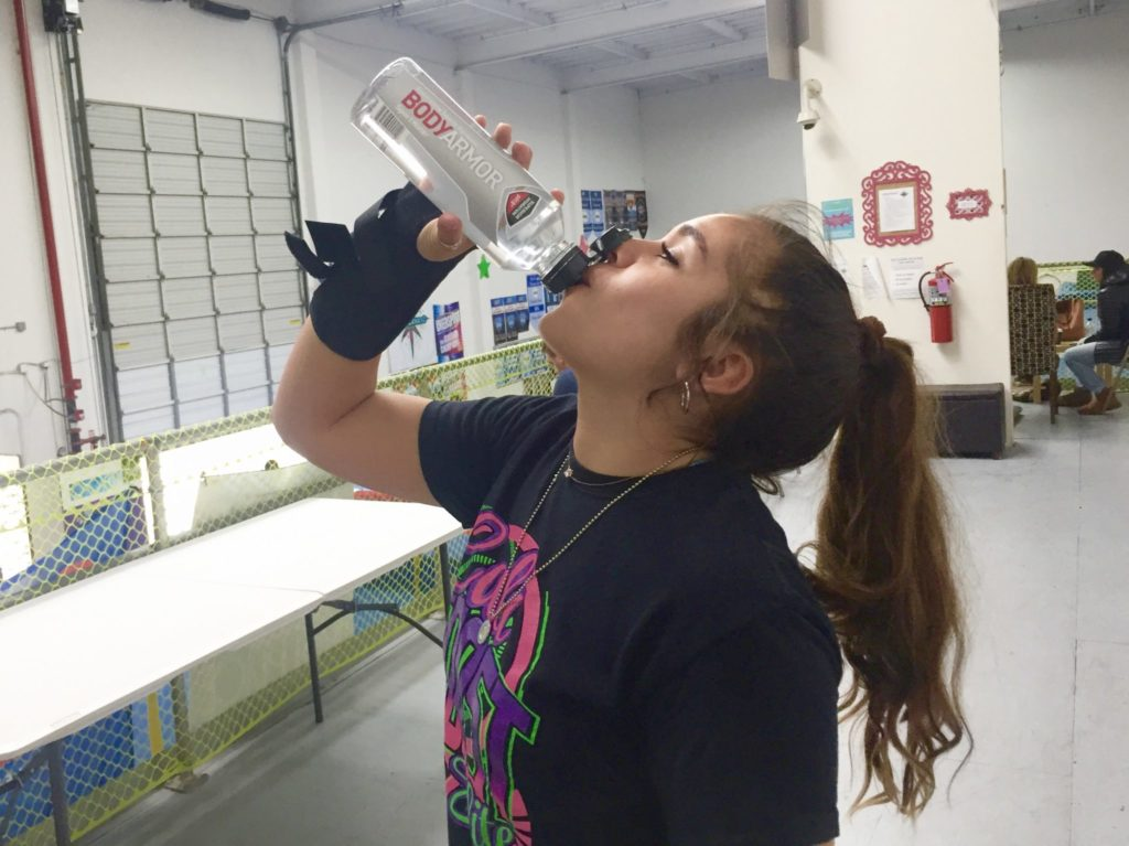 Supercharged workout with BODYARMOR