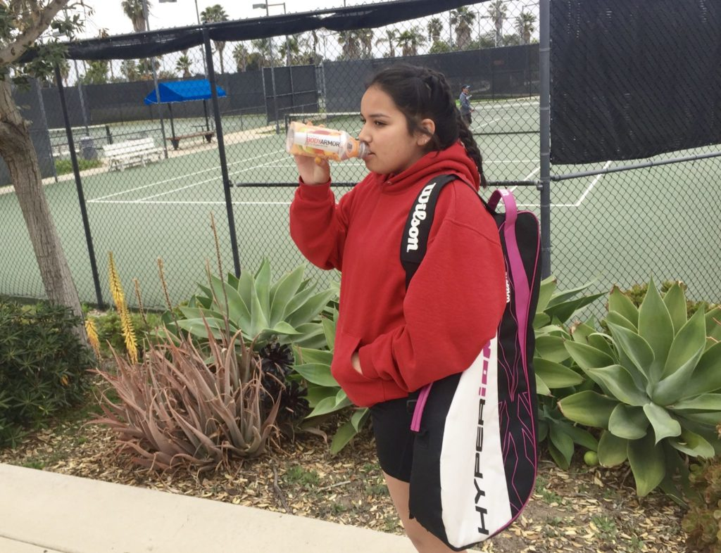 Supercharged tennis with BODYARMOR