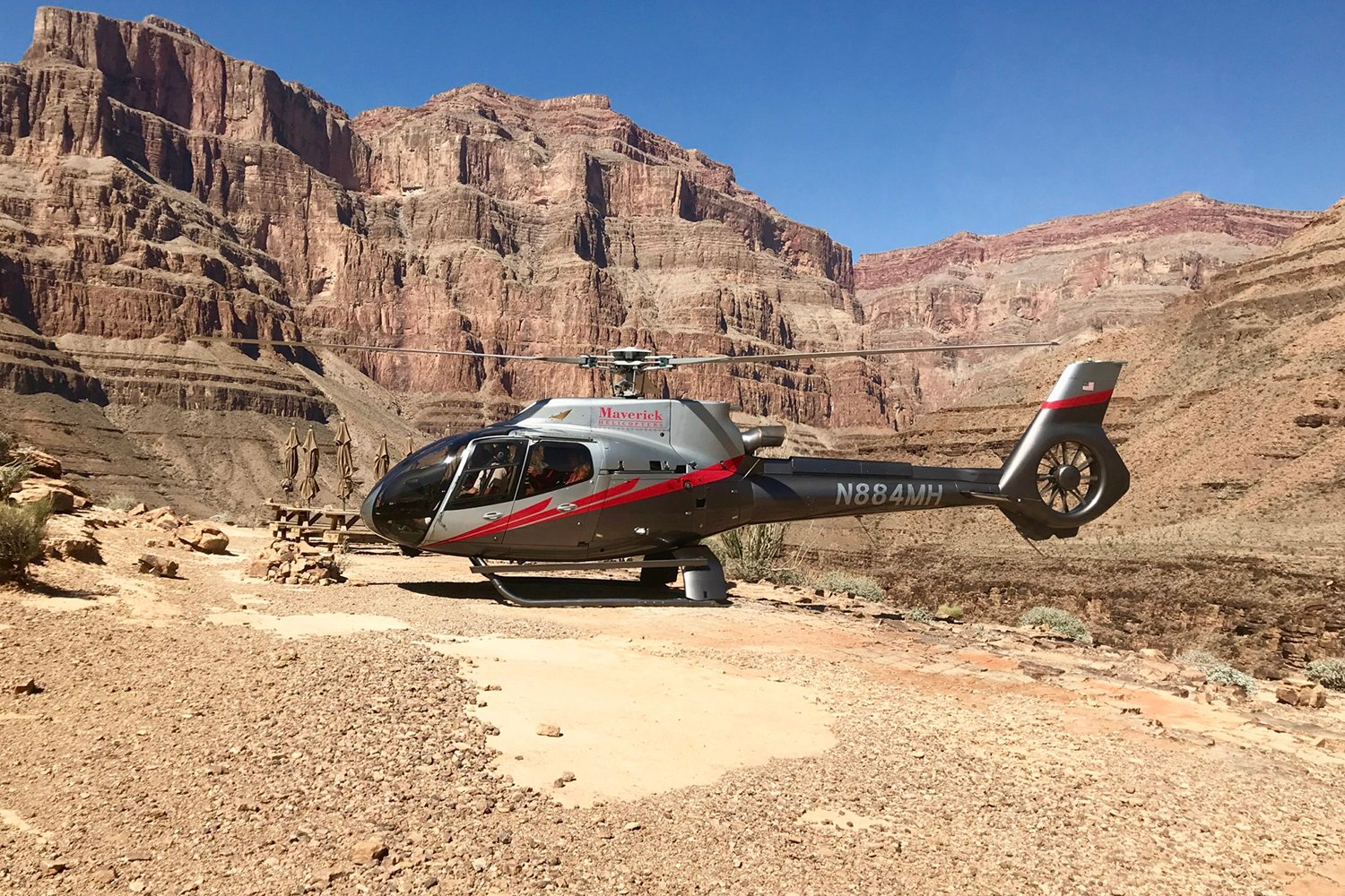 helicopter tour of the Grand Canyon from Las Vegas