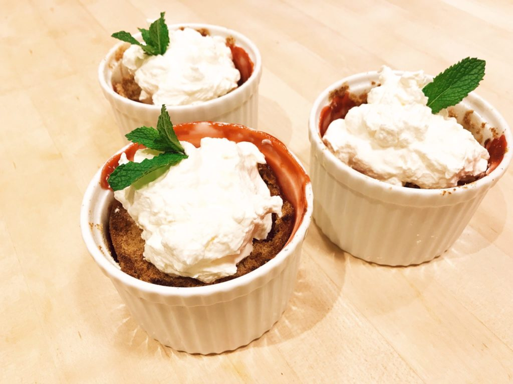 Strawberry Rhubarb Crisp recipe