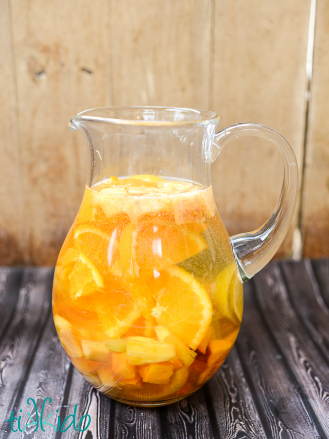 Summer White Sangria recipe