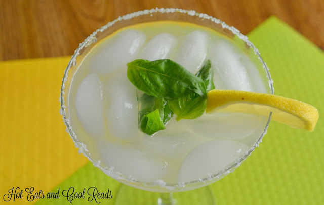 Lemon Lime Basil Margarita recipe