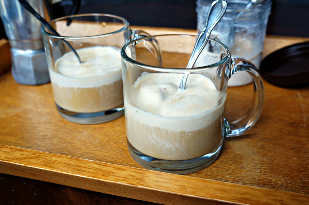 Hazelnut Affogato recipe