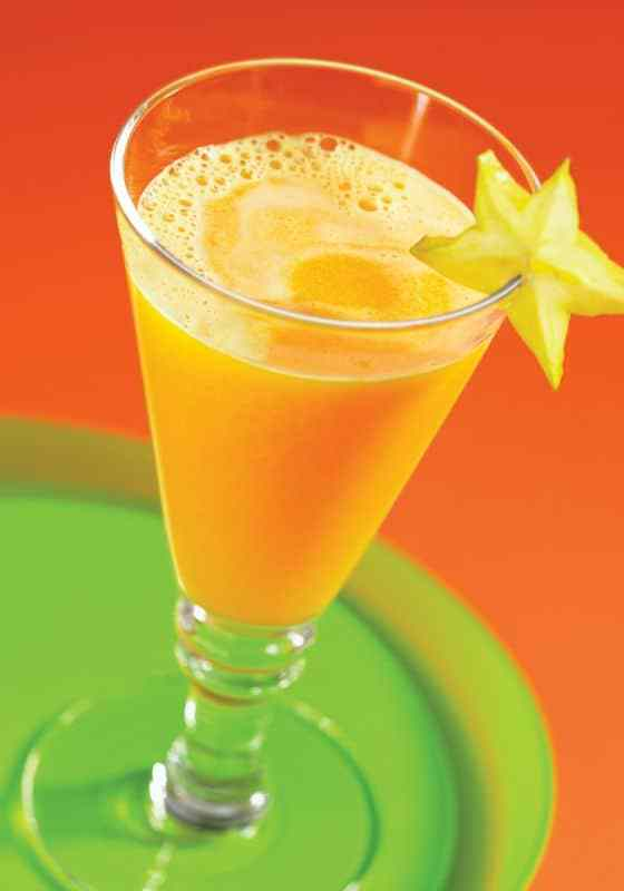 Orange Star Fruit Juice recipe