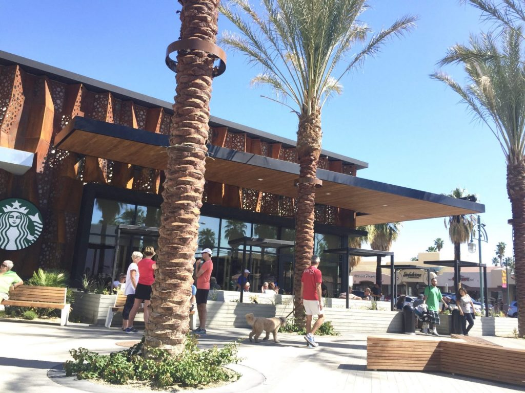 Starbucks Downtown Palm Springs