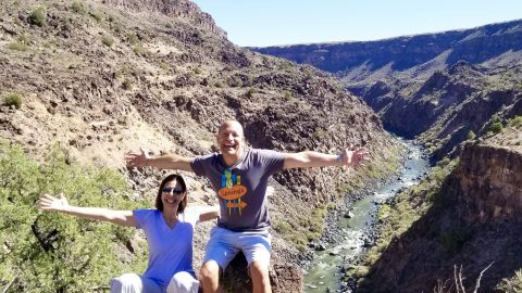 Rio Grande River Gorge view