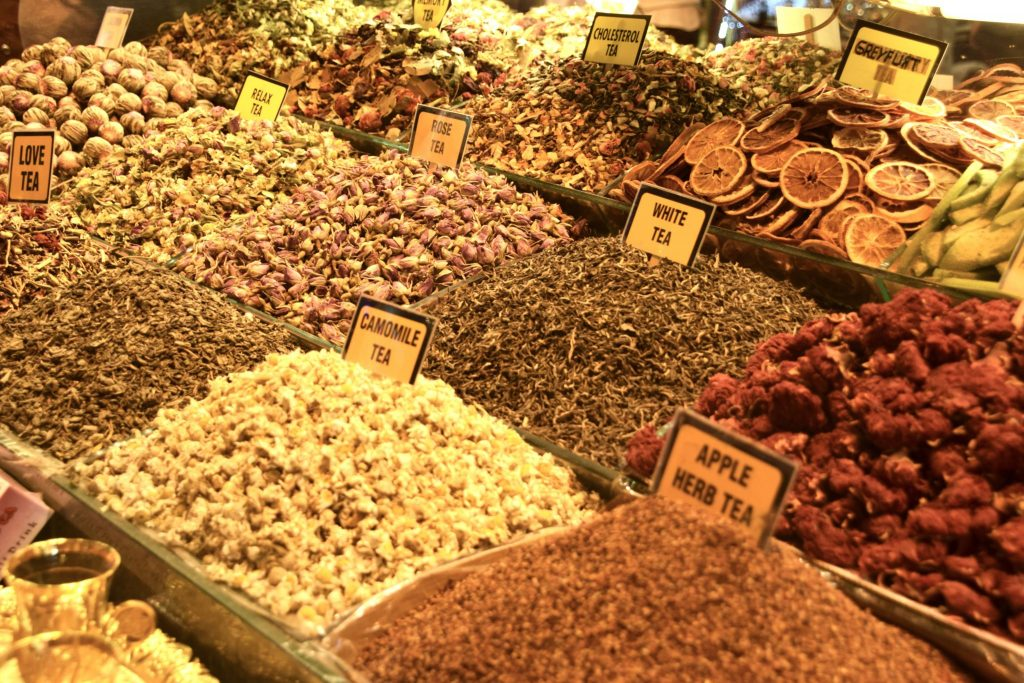 spices at Istanbul Spice Market