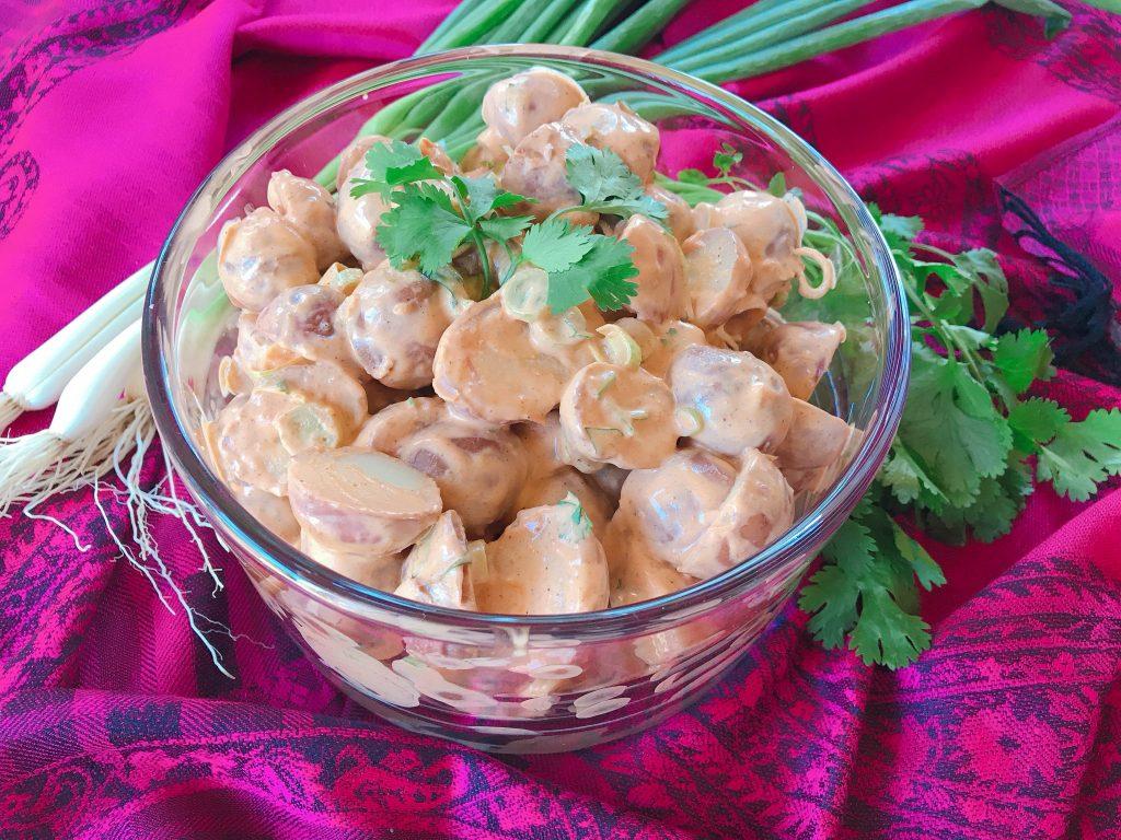 Tandoori Potato Salad recipe