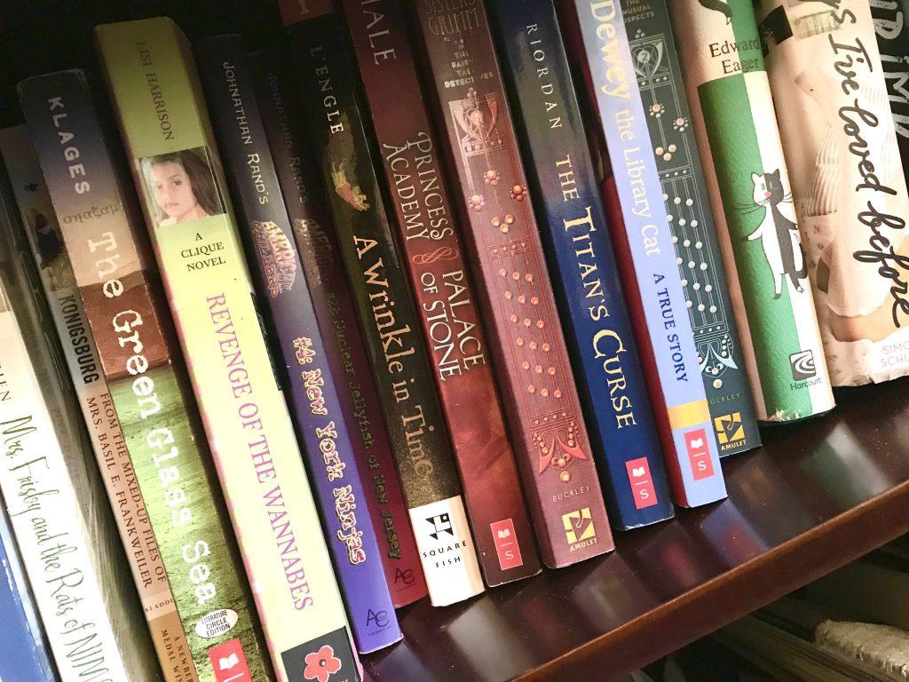 teen girl book collection