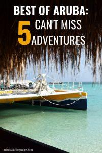 Best of Aruba 5 can't miss adventures