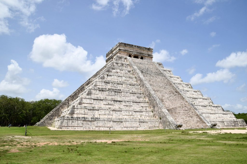 Chichen Itza main temple