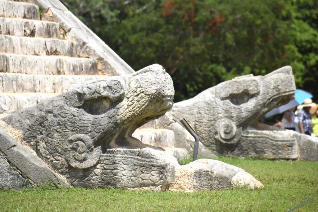 Chichen Itza serpents