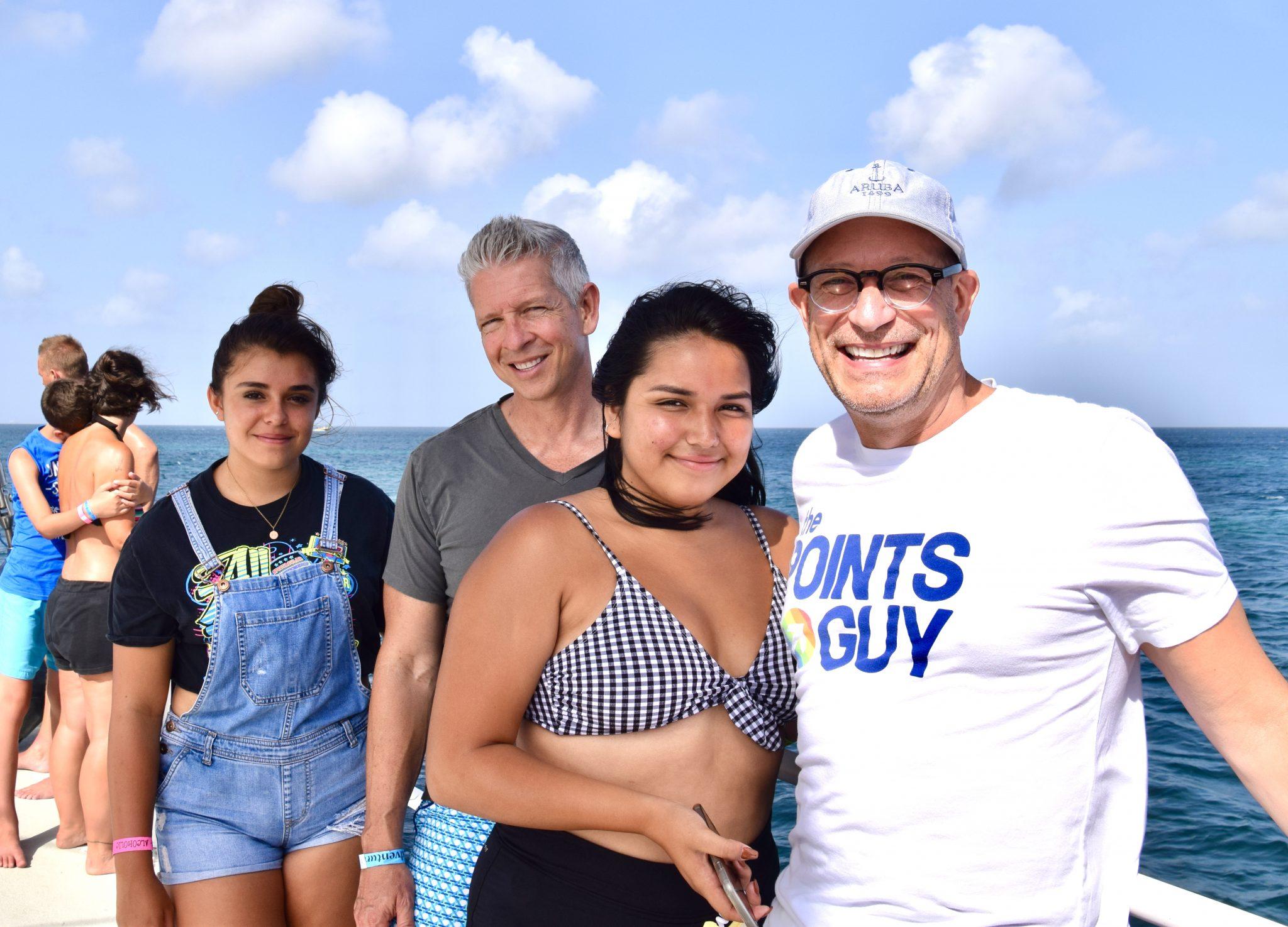 sailing in Aruba
