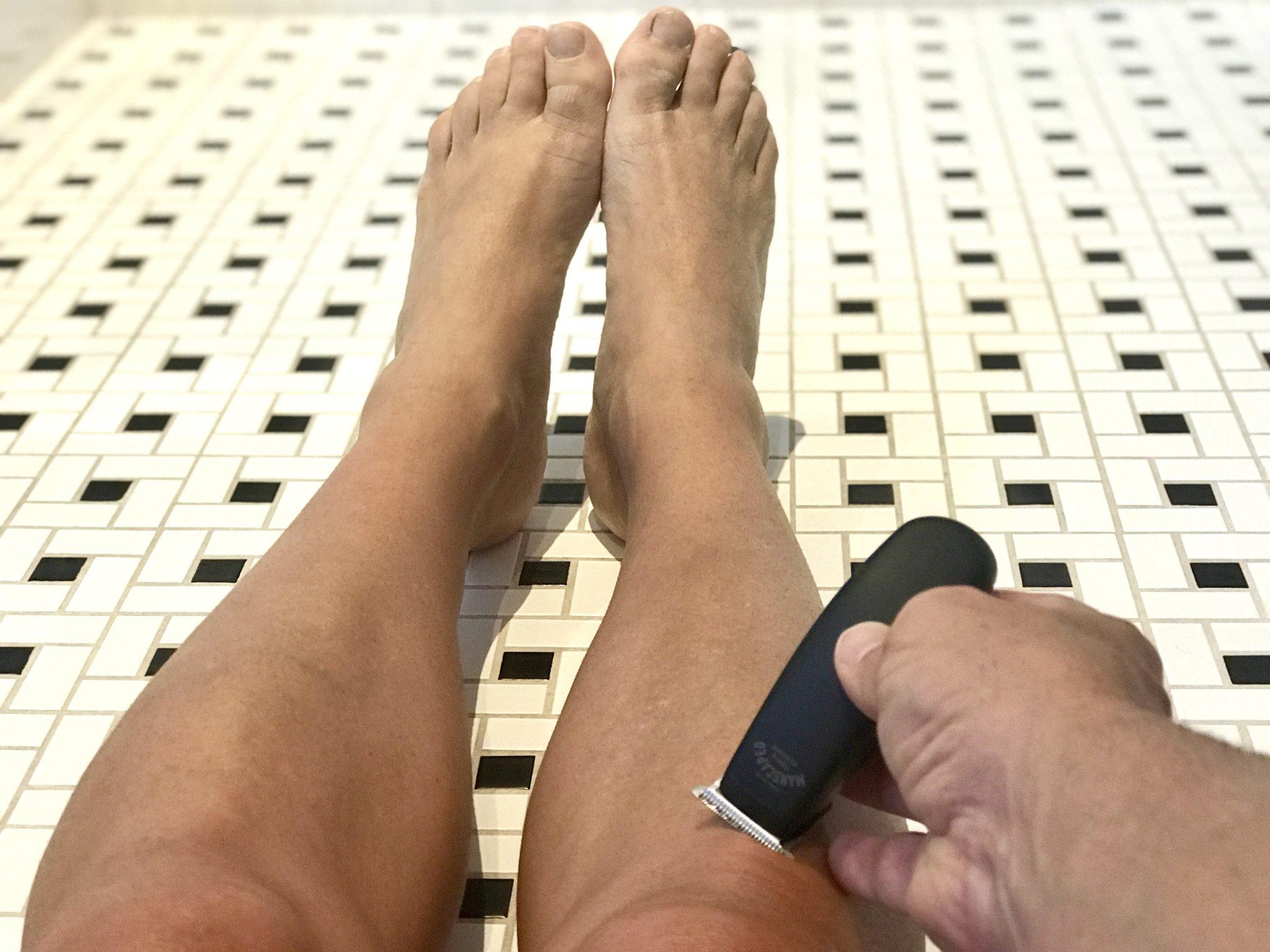 manscaping legs