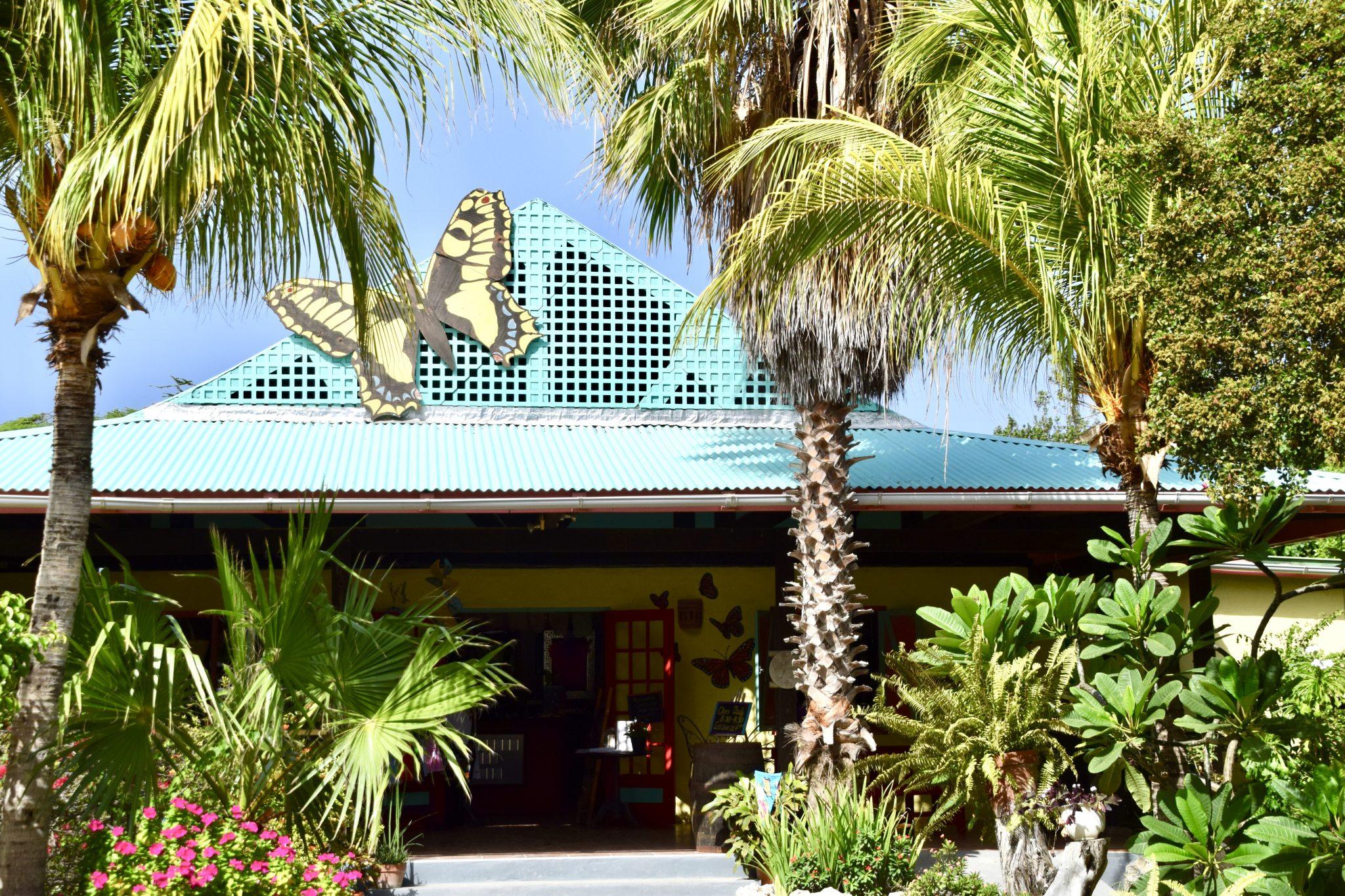 Aruba Butterfly Farm entrance