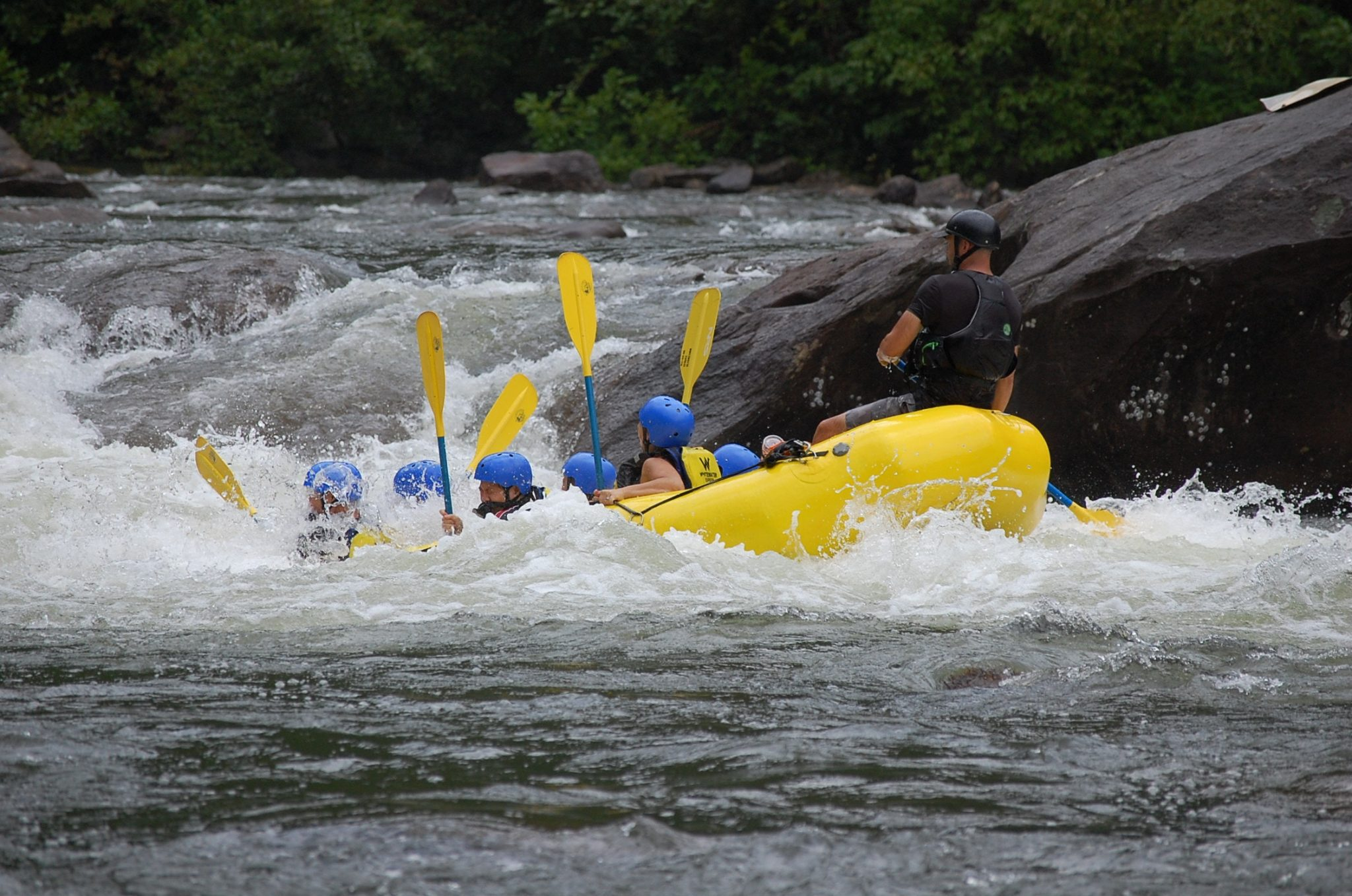white water rafting adventure