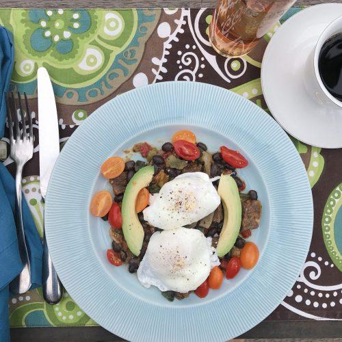 Omaha Steaks breakfast skillet