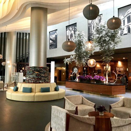 lobby Live Aqua Urban Resort
