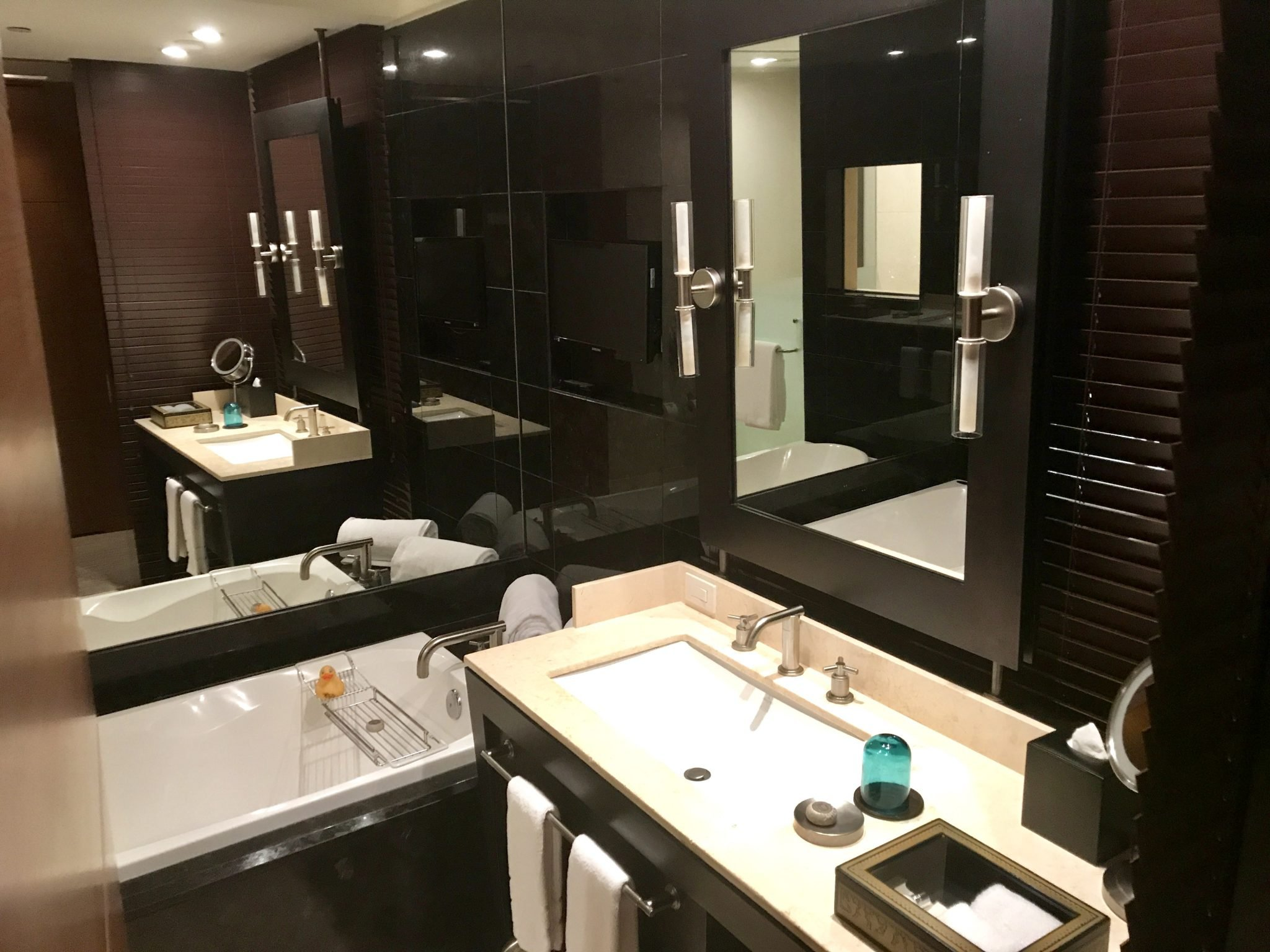 Live Aqua Urban Resort guestroom bath