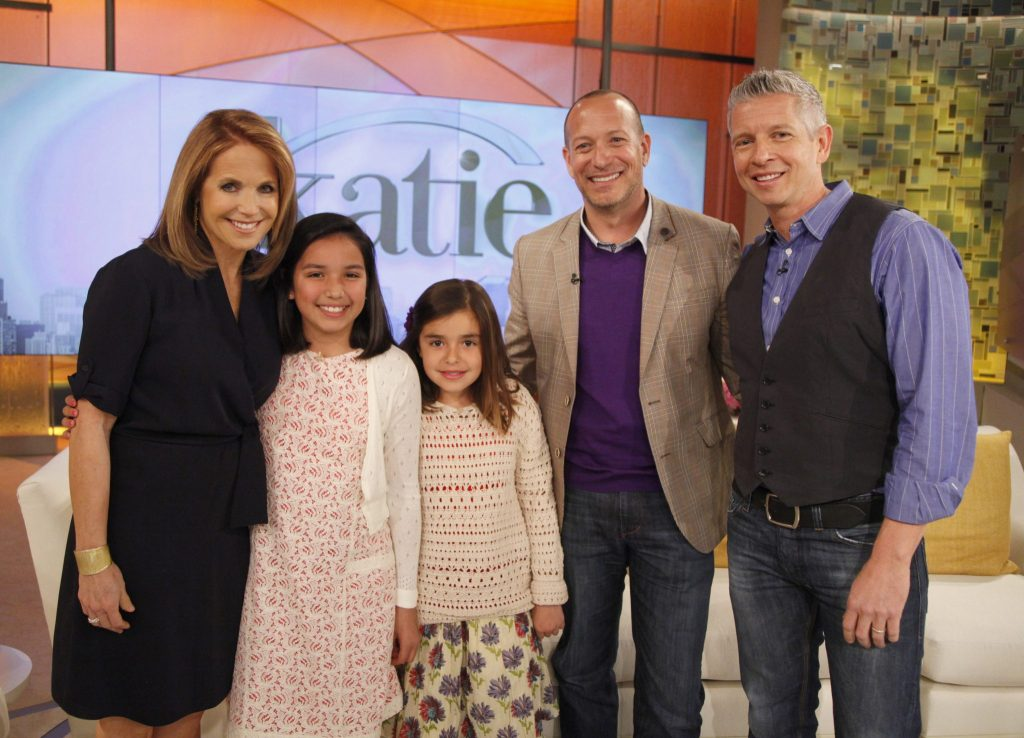 Sophia Bailey-Klugh on The Katie Couric Show about her letter to President Obama about having two dads