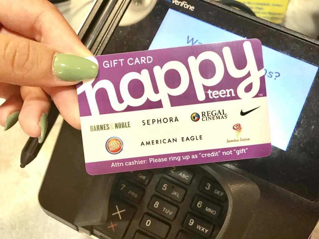 Happy Teen gift card at American Eagle Outfitters