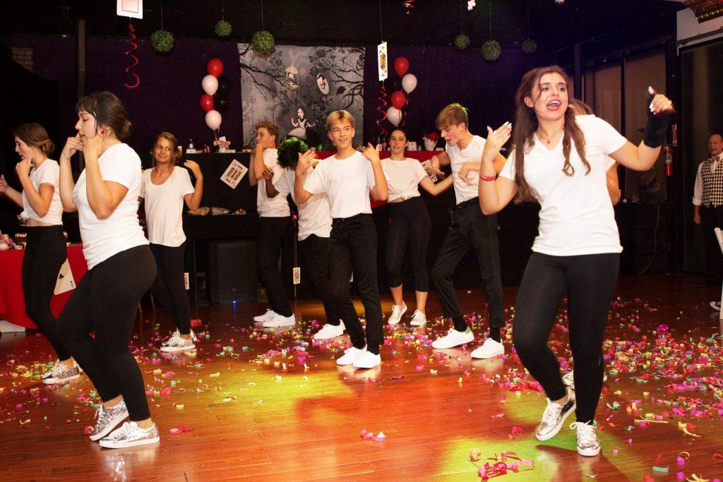 Baile Sorpresa at Quinceañera party
