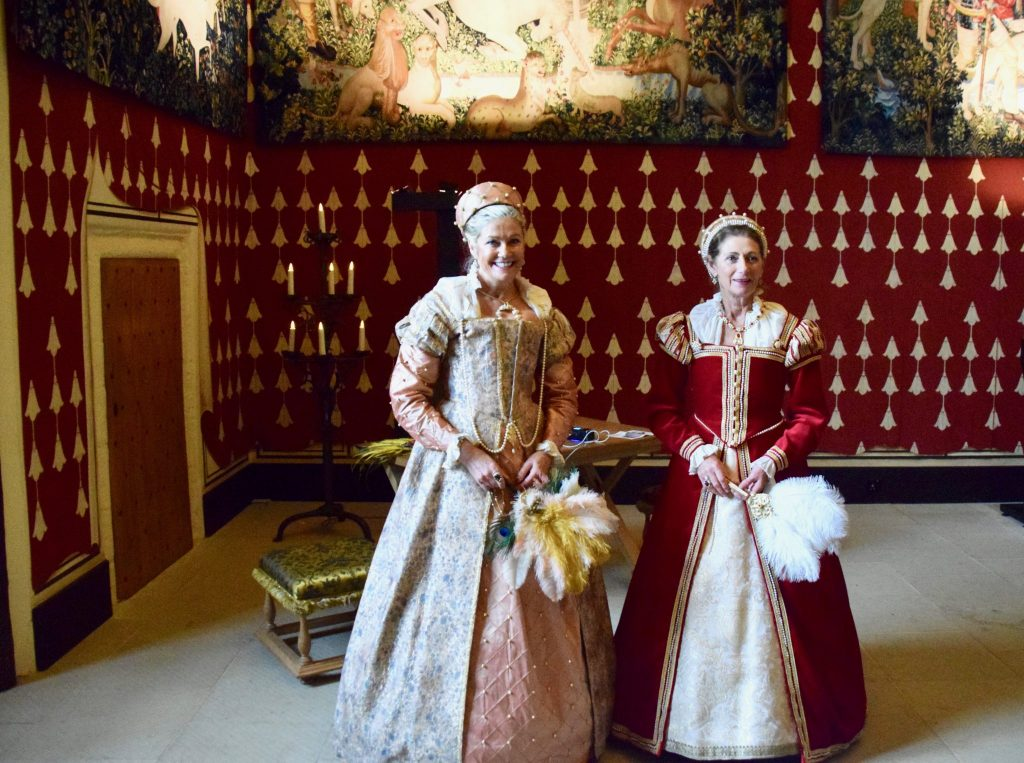Ladies in Waiting at Stirling Castle Scotland