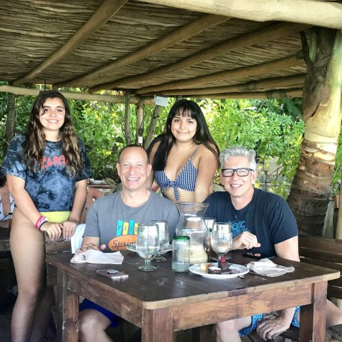 Las Caletas restaurant with family Puerto Vallarta