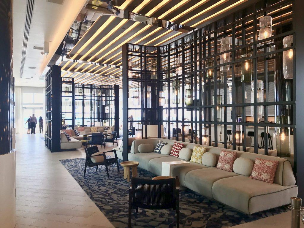 W Hotel Fort Lauderdale lobby bar