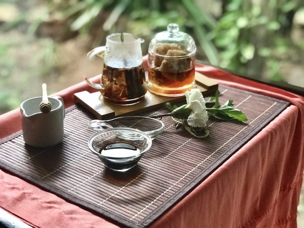 honey and vanilla ingredients at Se Spa Riviera Maya